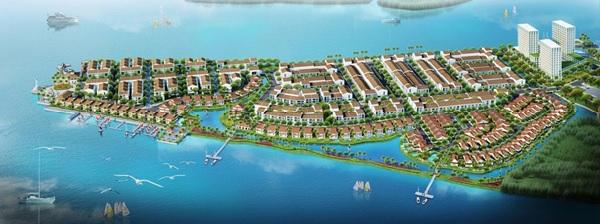 Dự án Marine City có quy mô lớn, được đầu tư mạnh mẽ về cơ sở hạ tầng