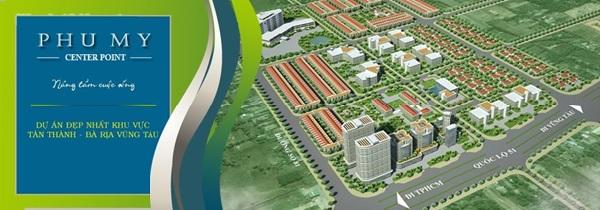 Phú Mỹ Center Point được đánh giá là dự án đất nền đẹp nhất khu vực Tân Thành