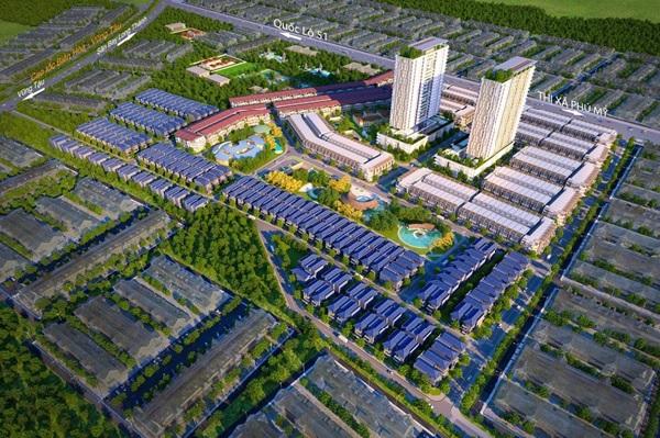 Phú Mỹ Gold City sở hữu vị trí đắc địa, tiềm năng phát triển lớn